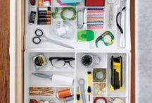 Organized In 10 Minutes or Less / Now that spring has sprung, finding the time to get organized probably seems impossible. But getting organized doesn't mean you have to sacrifice a whole day of sunshine to do it. Even just ten minutes can help you complete some of your Spring Cleaning goals quickly so you can get back outside. With a couple of clever tips and tricks, you can get your home looking more organized very quickly.
