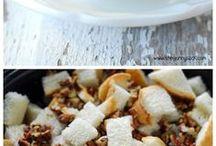 Slow cooker pumpkin pecan bread