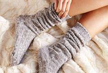 cozy socks!