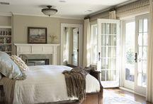 Doors off main bedroom