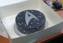 star trek cakes