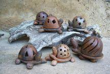 keramik skildpadde