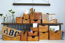 Storage alternatives / by Happy Hippy