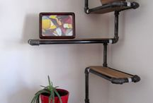 Pipe shelving / Pipe shelving