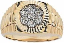 Mens Gold Rings