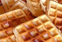 Waffles / comidas que gosto