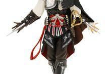Assassin´s Creed II PVC Statue Black Ezio 24 cm / Assassin´s Creed