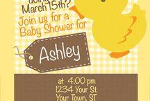Duck Theme Baby Shower