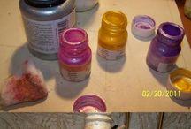 şişe boyama ve süsleme