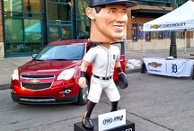 Detroit Athlete Bobbleheads / Our custom-made, foam Bobbleheads!