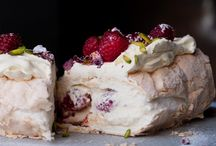Rose Petal Desserts