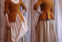 Allmoge kvinna 1769 / Inspirationsbilder för allmogedräkt för kvinnan 1760-1770-tal
