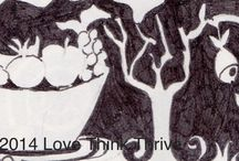 Love Think Thrive: Body & Mind / Tips about Life, health, stress management, nutrition and mind & body fitness