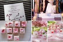 A cherry blossom wedding