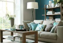 Living Room Colour Schemes / Colour schemes