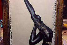 Airbrush art by RobertCat