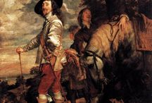 Sir Anthony van Dyck. Equestrian portraits. Horses.