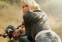 Motorrad mädchen