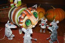 paper mache-keramik папье-маше-лепка-керамика