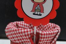 Festa MARIA Isis chapeuzinho vermelho