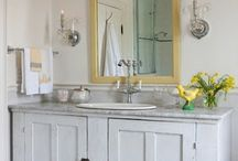 ideas for my new bathroom / by Kandi Williamson