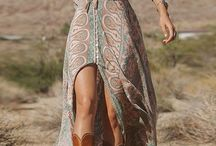 BOHO, ETNO / Bohemian style, boho fashion, etnically-inspired design
