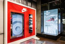 Press | Nike / IDL was tasked with supporting the Nike Sportswear launch of the refreshed Air Force 1 Ultra Flyknit in multiple locations nationwide. These images encapsulate the installations we helped create in several elevated accounts across the country.
