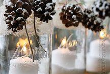 candle jar christmas