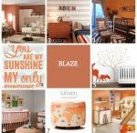 Nursery Design: ORANGE & CORAL / by Lullaby Paints