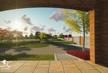 3d Landscaping Mediteranean Project