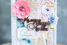 """Inspiration of """"Wedding/Love"""" theme / This board shows the work on the topic """"Romance/Love"""""""
