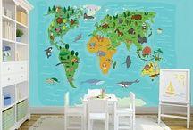 WallDesign56 Fotobehang Kinderkamer / Het mooiste, leukste, spannendste en vrolijkste fotobehang voor op de kamer van jouw kinderen vind je in onze webshop: www.walldesign56.com #kids #wallmurals #bildtapete