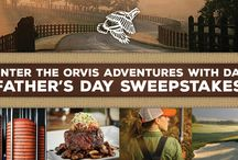 Father's Day / Celebrating Father's Day and those great adventures with dad through stories, gift ideas and more. #OrvisDad / by Orvis