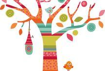 árbol infantil.