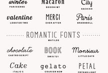 Layout & fonts