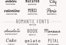 Font/Typography