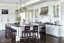 Kitchen Inspiration / kitchens, kitchen remodels, remodeling your kitchen, beautiful kitchens, white kitchens, farmhouse kitchens, luxury kitchens, custom kitchens, kitchen design, kitchen inspiration