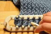 Arrêt des maille fin travail tricotin en long