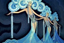 1930's art decor