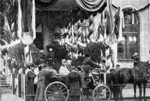 Przyjazd cara Mikołaja II do Warszawy 1897