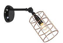 Lampy z drutu!