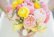 Southern Chic Wedding Flowers / by BloomsByTheBox.com