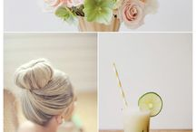 It's a nice day for a.... / wedding pinboard
