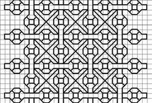 Blackwork embroidery / patterns