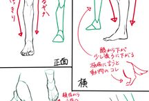tutorial leg & foot