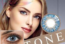 Colorblends Freshgo Contacts Non Prescription Coloured Contact Lenses / Buy Freshgo Color Contacts with color blend three tone colour technology non prescription fashion eye lenses