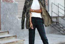 Camo Jacket Outfit Ideas