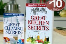 Grandma Knows Best: Great Kitchen Secrets  / News, reviews and more on the the book that will help you save time and money!