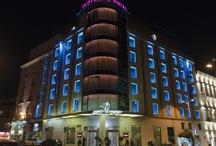 Fachada . Hotel Santo Domingo. Madrid