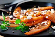 Græskar / Græskar kan bruges til mange ting. Dens smukke farve er altid et spænende indslag i efterårets køkken.